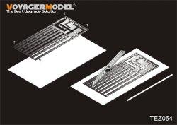 画像1: VoyagerModel [TEZ054]プラ板用ストライプカットテンプレート(各スケール対象)