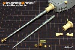 画像4: VoyagerModel [VBS0515]1/35 WWII独 L/68 10.5cm 戦車砲 金属砲身セット(汎用)