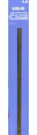 ウェーブ[OP054]C・ライン No4( 1.0mm)5本入り
