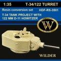 ワイルダー[RS3501]T-34/122 122ミリ榴弾砲D-11装備型