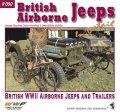 WWP[R090]WWII 英陸軍空挺用トラック 空挺ジープとトレーラー
