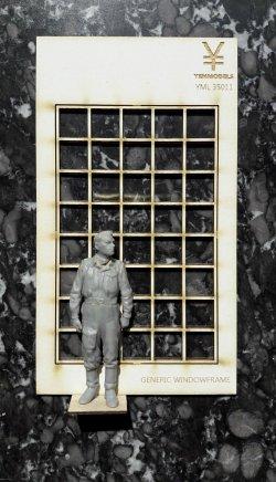 画像4: YENMODELS[YML35011]1/35 汎用格子枠窓