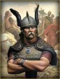 Young Miniatures[YH1810]1/10  紀元前52年 ガリア戦争のウェルキンゲトリクス
