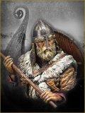 Young Miniatures[YH1852]1/10  戦斧を構えるバイキングの戦士