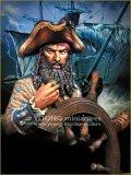 Young Miniatures[YH1859]1/10  舵を取る海賊黒髭 1718年