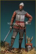 Young Miniatures[YH7001]70mm  Medieval Knight 14th Century(Sold Out)