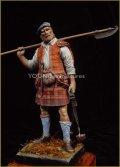 Young Miniatures[YH9004]90mm ハイランド地方の戦士 1746年