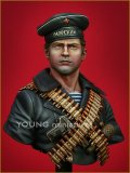 Young Miniatures[YM1821]1/10 WWIIソビエト海軍歩兵 「黒い悪魔」