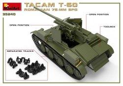 画像3: ミニアート[MA35240]1/35 ルーマニア76ミリ自走砲TACAM T-60フルインテリア(内部再現)