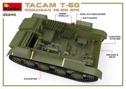 画像2: ミニアート[MA35240]1/35 ルーマニア76ミリ自走砲TACAM T-60フルインテリア(内部再現)