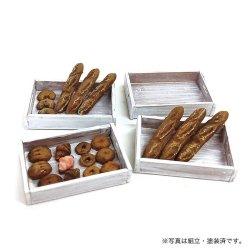 画像2: アスカモデル[MS-009] 1/24 焼きたてパン&ウッドBOX