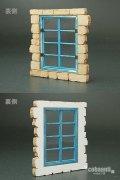 コバアニ模型工房[FS-018]1/35ヨーロッパの家の窓A