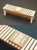 コバアニ模型工房[OY-011]1/12檜の縁台と将棋セット