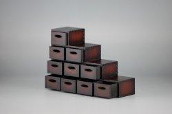 画像1: コバアニ模型工房[WZ-017]1/12 和モダン 階段ダンス