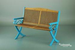 画像1: コバアニ模型工房[DS-001]1/6 ガーデンロングチェアー