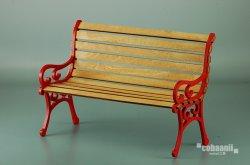 画像1: コバアニ模型工房[DS-002]1/6 公園のベンチ