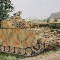 サイバーホビー[CH6611]1/35 WW.II ドイツ軍 IV号戦車 H型 中期生産型 w/ツィメリットコーティング