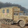 サイバーホビー[CH6766]1/35 WW.II ドイツ軍 Sd.Kfz.3 マウルティア 野戦救急車