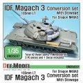 DEF.MODEL[DM35037]IDF マガフ3 105mm コンバージョンセット積荷付き(ドラゴンM48A3用)