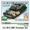 DEF.MODEL[DM35042]アメリカ M10 駆逐戦車 積荷セット(アカデミー用)