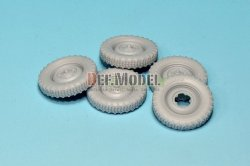 画像2: DEF.MODEL[DW30003]シュビムワーゲン/キューベルワーゲン コンチネンタル 自重変形タイヤ(タミヤ用)