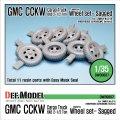 DEF.MODEL[DW30007]GMC CCKW 6×6 1/2t カーゴトラック 自重変形タイヤ(タミヤ/ホビーボス用)