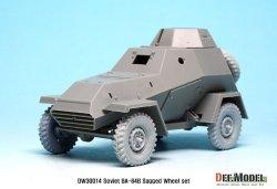 画像4: DEF.MODEL[DW30014A]BA-64B 装甲車 自重変形タイヤ(ミニアート用)