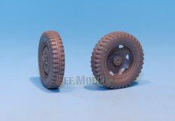 画像4: DEF.MODEL[DW30016]シュタイヤー 1500A 自重変形タイヤ(タミヤ用)