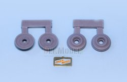 画像3: DEF.MODEL[DW30017]オペル ブリッツ 3t カーゴトラック 自重変形タイヤ(タミヤ/イタレリ用)