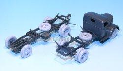 画像4: DEF.MODEL[DW30017]オペル ブリッツ 3t カーゴトラック 自重変形タイヤ(タミヤ/イタレリ用)