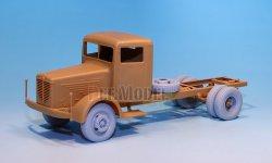 画像4: DEF.MODEL[DW30019]ビュッシング NAG L4500S トラック 自重変形タイヤ(AFVクラブ用)