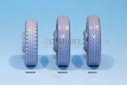 画像4: DEF.MODEL[DW30020]メルセデス L4500R マウルティア ダンロップ 自重変形タイヤ(ズべズダ用)