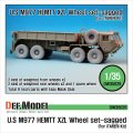 DEF.MODEL[DW35026]M977 HEMETT XZL 自重変形タイヤ(イタレリ用)