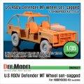 DEF.MODEL[DW35027]RSOV ディフェンダー MT 自重変形タイヤ(ホビーボス用)