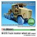 DEF.MODEL[DW35030]M1070 トレーラーヘッド 自重変形タイヤ(ホビーボス用)