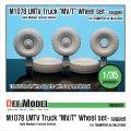 DEF.MODEL[DW35031]M1078 MV/T 自重変形タイヤ(トランぺッター用)
