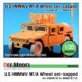 DEF.MODEL[DW35032]ハンビー MT/V 自重変形タイヤ(アカデミーM1151/ブロンコM1114用)