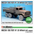 DEF.MODEL[DW35034]M923A1 ビッグフット AT-2A 自重変形タイヤ(イタレリ用)