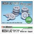 DEF.MODEL[DW35036]M35A1/A2 6×6 1/2t カーゴトラック 自重変形タイヤ(AFVクラブ用)