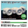 DEF.MODEL[DW35040]M1083 FMTV カーゴトラック Mich.XL 自重変形タイヤ(トランぺッター用)