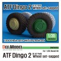 DEF.MODEL[DW35053]ドイツ ATF ディンゴ2 自重変形タイヤ(レベルキット用)