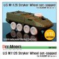 DEF.MODEL[DW72003]1/72 M1126 ストライカー ICV 自重変形タイヤ(アカデミー用1/72)