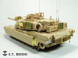画像3: E.T MODEL[E35-284]1/35 現用 米陸軍/海兵隊 M1A1 AIM/M1A1 TUSK(モンモデルTS-032用)