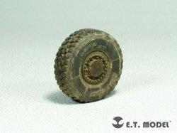 画像2: E.T MODEL[ER35-069]1/35 現用 JGSDF 陸上自衛隊 16式機動戦闘車加重タイヤ&ホイールセット(タミヤキット用)
