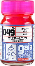 ガイアノーツ[049]クリアーピンク 顔料系クリアー