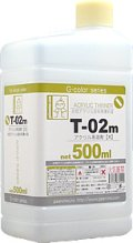 ガイアノーツ[T-02m] アクリル系溶剤(大) 500ml