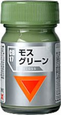 ガイアノーツ[CB-17]モスグリーン 光沢