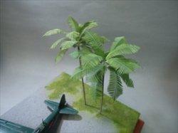 画像1: 紙創り[A-40]1/72ヤシの葉