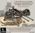 Live Resin[LRE35289]1/35  ハンヴィー用M2 .50口径連装機銃セット(1)