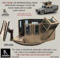 Live Resin[LRE35292]1/35  米特殊部隊用ハンヴィーGMV-M装甲銃塔(2)